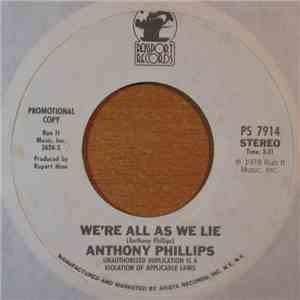 Anthony Phillips - We're All As We Lie album FLAC