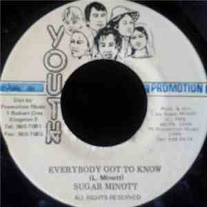 Sugar Minott - Everybody Got To Know album FLAC