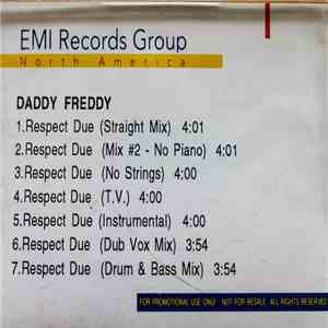 Daddy Freddy - Respect Due album FLAC