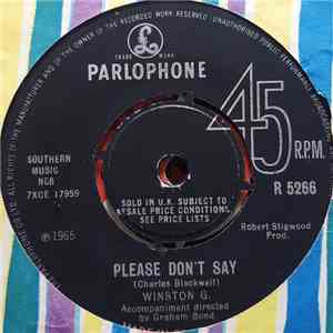 Winston G. - Please Don't Say / Like A Baby album FLAC