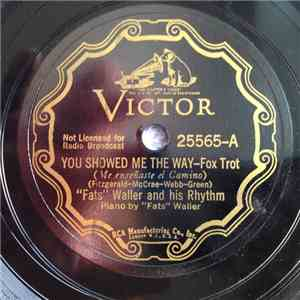 """Fats"" Waller and his Rhythm - You Showed Me The Way / San Anton' album FLAC"