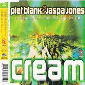 Piet Blank & Jaspa Jones - Cream album FLAC