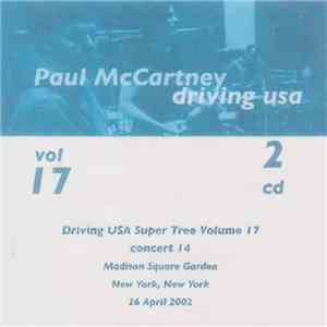 Paul McCartney - New York, NY 26 April 2002 album FLAC