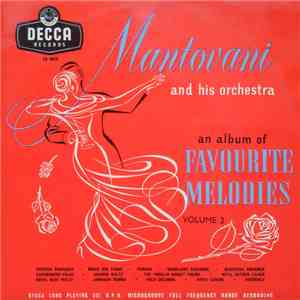 Mantovani And His Orchestra - An Album Of Favorite Melodies Volume 2 album FLAC
