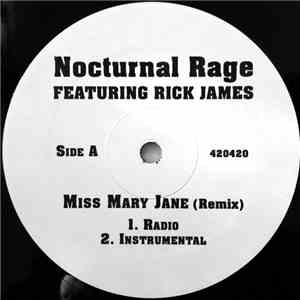 Nocturnal Rage - Miss Mary Jane album FLAC