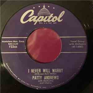 Patty Andrews - Daybreak Blues / I Never Will Marry album FLAC