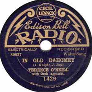 Terence O'Neill - Old New England Moon / In Old Dahomey album FLAC