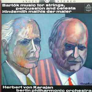 Bartók / Hindemith - Herbert von Karajan, Berlin Philharmonic Orchestra - Music For Strings, Percussion And Celesta / Mathis Der Maler album FLAC