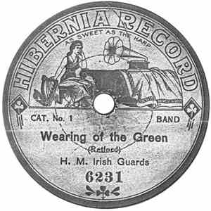 H. M. Irish Guards - Wearing Of The Green / L'Entente Cordiale March album FLAC