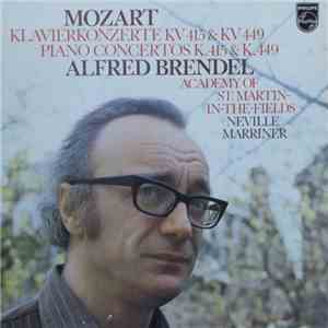 Mozart - Alfred Brendel, Academy Of St. Martin-In-The-Fields, Neville Marriner - Klavierkonzerte KV 415 & KV 449 album FLAC